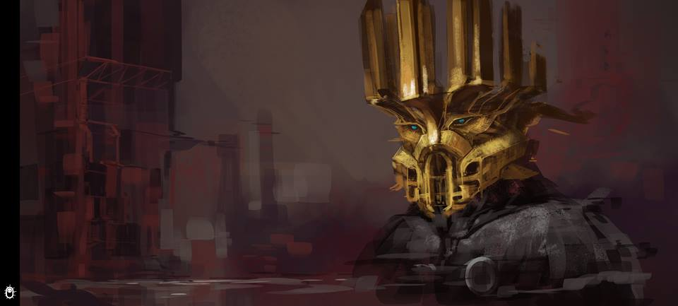 Mask of Creation concept 2