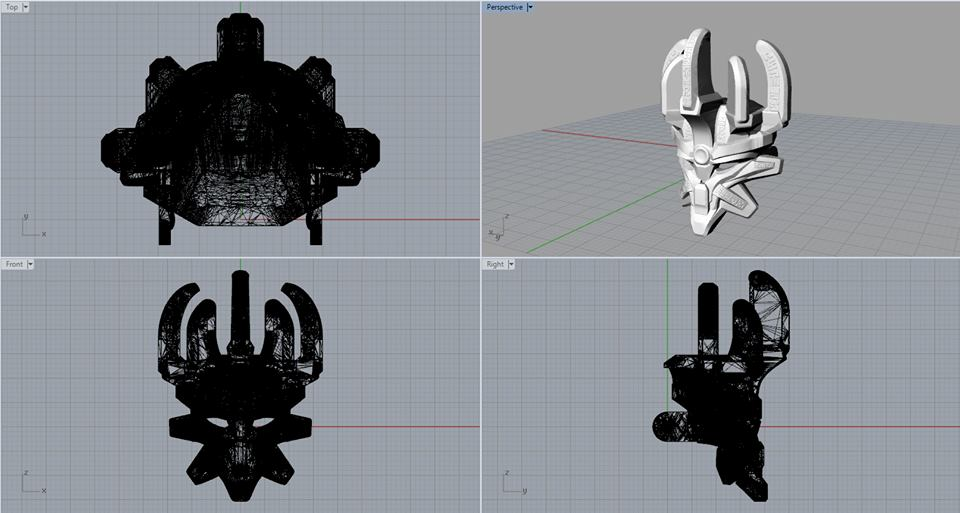 Mask of Creation concept 4
